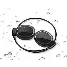Shuua Mini Level Wireless Bluetooth Headphone Waterproof Headset(Black)