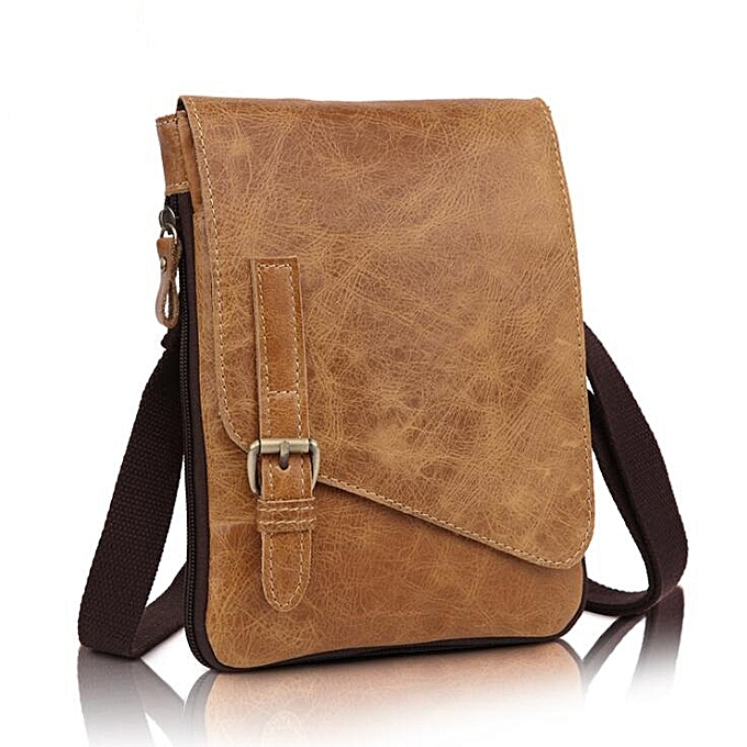 b04f3dbe8923 Leather Men Bag Men Messenger Bags Fashion Small Flap Crossbody Bags Casual  Men's Leather Shoulder Bag LI-1960