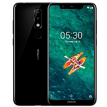 X5 5.86-inch (4GB, 64GB ROM) Android 8.1, 3060mAh, 13MP + 8MP, Dual Sim 4G LTE Smartphone - Black