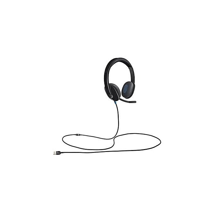 3ad39fe0812 Logitech H540 - Full Stereo USB Headset with Microphone - Black ...