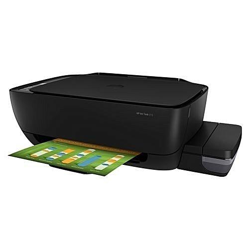 Ink Tank 315 with CISS - Colour Printer, Scanner, Copier - Black