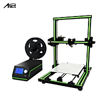 E10 3D Printer DIY Kit Partially Assembled Multi-language Software Aluminum Alloy Frame Super Building Volume 220*270*300mm with 8GB TF Card
