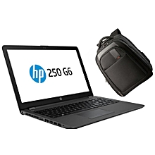 "250 G6 - 15.6"" - Intel Celeron N3350 - 500GB HDD - 4GB RAM - No OS - Black + Free Backpack Bag"