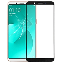 Front Screen Outer Glass Lens for OPPO A83 (Black)