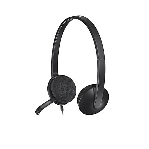 H340 USB Headphone - Black