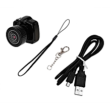 TA Small Mini Full HD Camera Camcorder Video Recorder DVR Webcam For Security -black