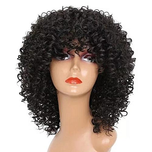 Allwin Natural Black Female Noble Hair Short