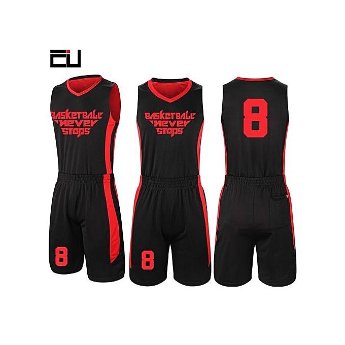 Buy Eufy Customized Brand Men S Basketball Team Sport Jersey Set