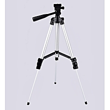 Hot Pawaca 3Pcs Camera DSLR Stand Tripod Extendable 130cm CAM-002 FREE Carry Bag + Phone Holder
