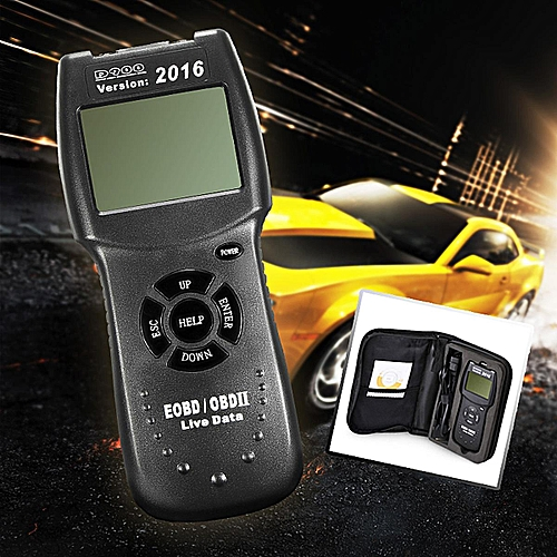2016 D900 Universal OBD2 EOBD Car Fault Code Reader Scanner Diagnostic Tool