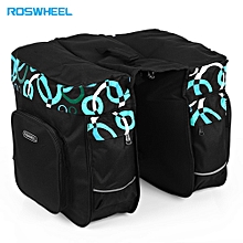 30L Cycling Rear Seat Pack Double Side Carrying Pouch - Black