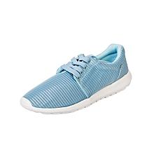 Casual Active Shoes - Pale Blue Breathable Texture