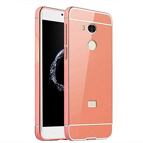 buy online 9c7e4 ce02a Luxury Plating Mirror Case Aluminum Metal Metal + Acrylic Hard Back Cover  For Xiaomi Redmi 4 Pro / 4 Prime 32GB (Color:c3)
