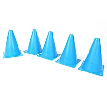 5PCS/Set 18cm Training Sport Safety Traffic Marker Cone Football Roller