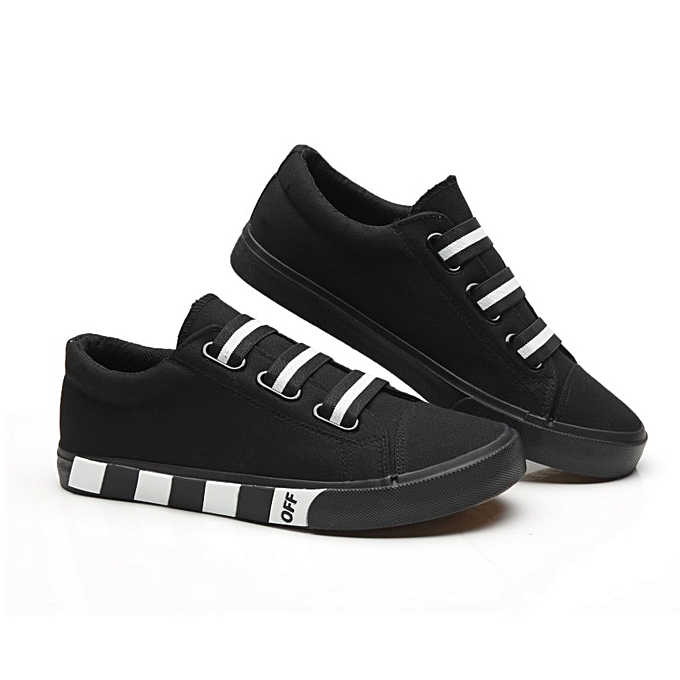 save off 35c7a 5398b Mens Bteathable Flats Skate Shoes Velcro With Twill Strap Canvas Sneakers