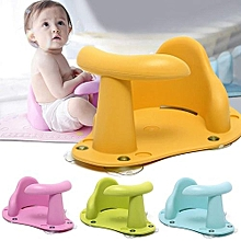 Baby Bath Tub Ring Baby Bath Chair Kids Anti Slip Safety Chair 4 Colors Seat Infant Child Toddler Yellow
