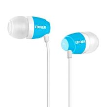 EDIFIER H210 High Quality In Ear Headphones (Blue)   POWERLI
