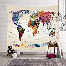 Best selling Exit Cloth Casual Bedroom Decoration Nordic World Map