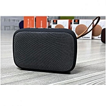 Desktop Wireless Bluetooth Stereo Speaker with MicroSD Slot/ Flashdisk and Radio - Grey