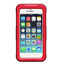Waterproof Durable Dirt Snow Proof Case Cover for iPhone 6/6S 6plus/6S plus red