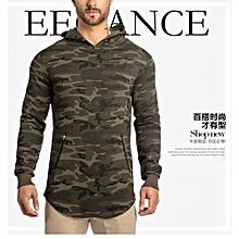 Men's Hot Sale Fashion Men's Hoodie Warm Hooded Sweatshirt Coat Jacket Outwear Sweater-color