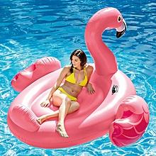 Mega Pink  Flamingo Inflatable Island