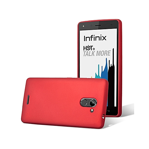 promo code 6db75 5ba31 INFINIX Hot 4 PRO (X556) Back Cover - Silicone Rubber Finish Red