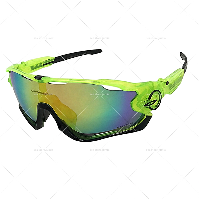 53ba96ccd06 Oakley JawBreaker Mirror Sunglasses K9290 - Green  Fire IRIDIUM ...