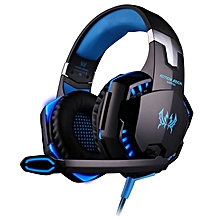 G2000 Over-ear Gaming Headphone With Mic Stereo Bass LED Light For PC Game