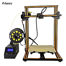 Aibecy CR-10S Self-assembly 3D DIY Printer 300 * 300 * 400mm Print Size with Aluminum Frame & Filament Detector Includes 200g Filament Supports PLA/ABS/TPU/Copper/Wood/Carbon Filamen