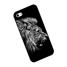 iPhone X/8/8 Plus/7/7 Plus/6/6 Plus/6S Phone Case Creative PC Lion Roaring Pattern Phone Cover____IPHONE X____black
