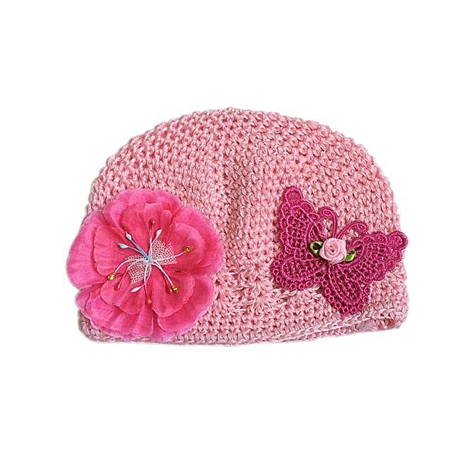 4018726b82018 Hiaojbk Store Baby Kids Toddler Cotton Butterfly Flower Outdoor Hollow Cap  Bucket Hat Gift PK-