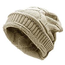 Mens Women Knitted Bonnet Beanie Hat Casual Woolen Winter Warm Hat