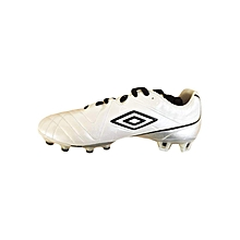 Speciali 3 Cup Football Boots - White & Black