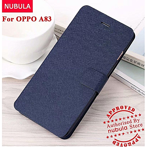 For OPPO A83 Casing Full Cover Slim Silk Pattern With Card Slot Flip Cover  Case For OPPO A83 300941 Color-2