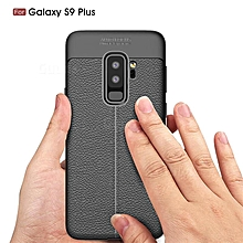 Black rubber Phone cover for Galaxy S9 Plus