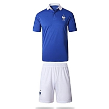 France National Team Jersey And Shorts For Men (White)