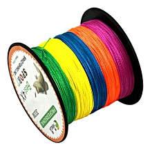 Colorful 2.0# 0.24mm 28lb 11.3kg Tension 300m Extra Strong 4 Shares Braid Pe Fishing Line Kite Line