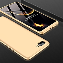 GKK Three Stage Splicing Full Coverage PC Case for OPPO A5 / A3s (Gold)