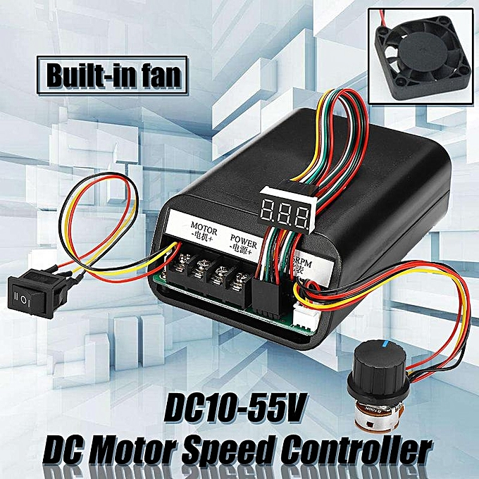 Buy Generic DC Motor Speed Controller DC10-55V Support Forward ...