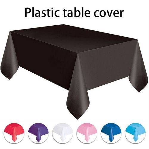 Generic 137x183cm Square Plastic Table Covers Tablecloth Kitchen Supply Party Table Cover Topper Catering Events  sc 1 st  Jumia Kenya & Generic 137x183cm Square Plastic Table Covers Tablecloth Kitchen ...
