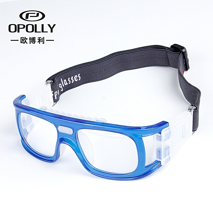 1af703462 Myopia Goggles Basketball Sports Spectacles Badminton Windproof Sports Sea  Blue