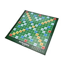Scrabble 100 Letters Tiles  Word Alphabet Crossword Board Game- Mini