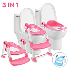NEW strong portable Step Ladder Potty Trainer  - pink