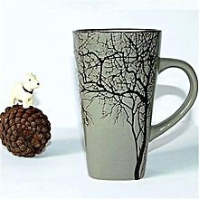 Latte mug -Grey Branch