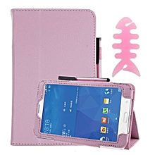 Leather Case Stand Cover For Samsung Galaxy Tab 3 7Inch Tablet SM-T110 PK