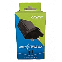 3 Pin Charger - Black