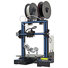 Geeetech A10M Mix-color Prusa I3 3D Printer 220*220*260mm Printing Size With Dual Extruder/Filament Detector/Power Resume/3:1 Gear Train/Open Source Control Board