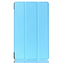 For Asus Zenpad 8.0 Inch Case, Ultra Slim Case + PU Leather Smart Cover Stand Auto Sleep/Wake For ASUS Tablet Z380KL/KNL, Sky Blue