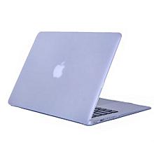 "13"" Air Case, Matt Hard Rubberized Cover For Macbook Air 13.3 Inch, Transparent"